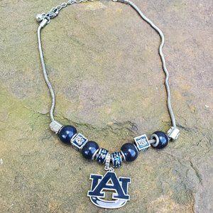 Jewelry - AUBURN Navy/Silver Necklace